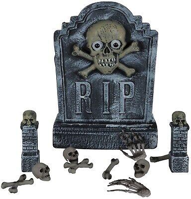 Totengräber Grab Stein Friedhof Rising unheimlich Halloween Party Dekoration