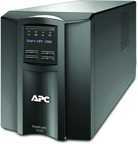APC SMT1500C Smart-UPS 1500VA 120V Uninterruptible Power Supply w/SmartConnect