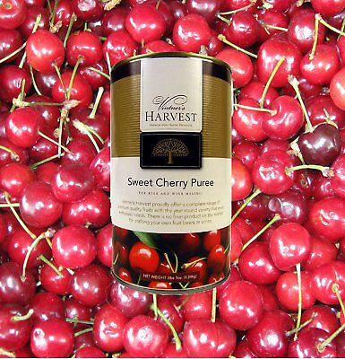 Vintner's Harvest Sweet Cherry Fruit Puree For Beer and Wine Making