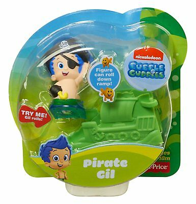 Fisher-Price Nickelodeon Bubble Guppies Pirate Gil (Bubble Guppy Toys)