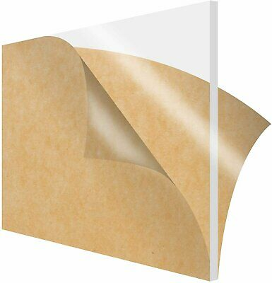 1-pack Simbalux Acrylic Sheet Clear 12x12 38 Thick 10mm Plexiglass