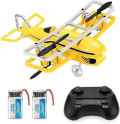 JJRC Mini Drone for Kids, RC Nano Quadcopter with Altitude Slow down, Headless Mode,