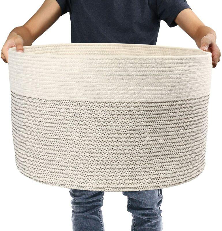 Large Woven Storage Basket 13