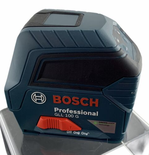 Bosch Power Tools GLL 100 G Green-Beam Self-Leveling Laser Tool