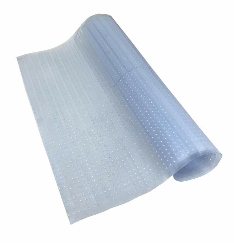 Sweet Home Stores Clear Plastic Runner Rug Carpet Protector