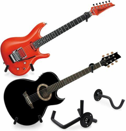 Horizontal Guitar Wall Mount Hanger Stand Holder Hook wall Display Bass