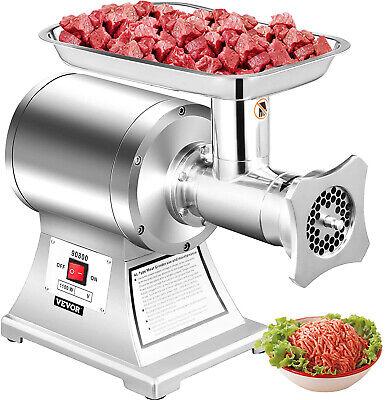Vevor 550lbsh Electric Meat Grinder 1.5hp Commercial Sausage Stuffer Filler