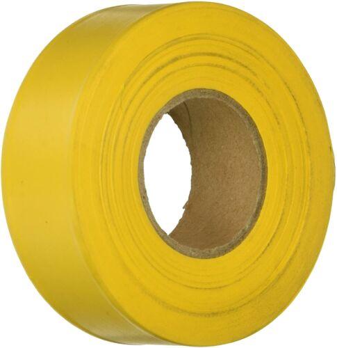 "IRWIN YELLOW Plastic Flagging Tape Marking Ribbon 1.5"" W x 300 ft. L - FREE SHIP"