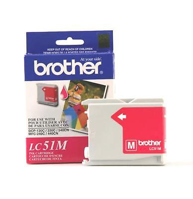 GENUINE Brother LC51 Magenta Ink for DCP-350C DCP-540CN MFC-240C FAX-1360
