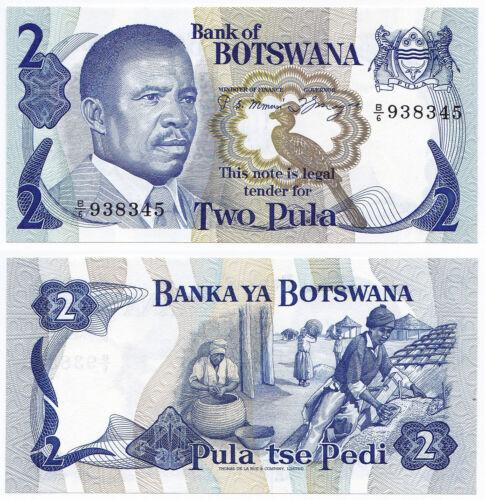 Botswana, 2 Pula 1982, Pick 7a, UNC, sign. 3