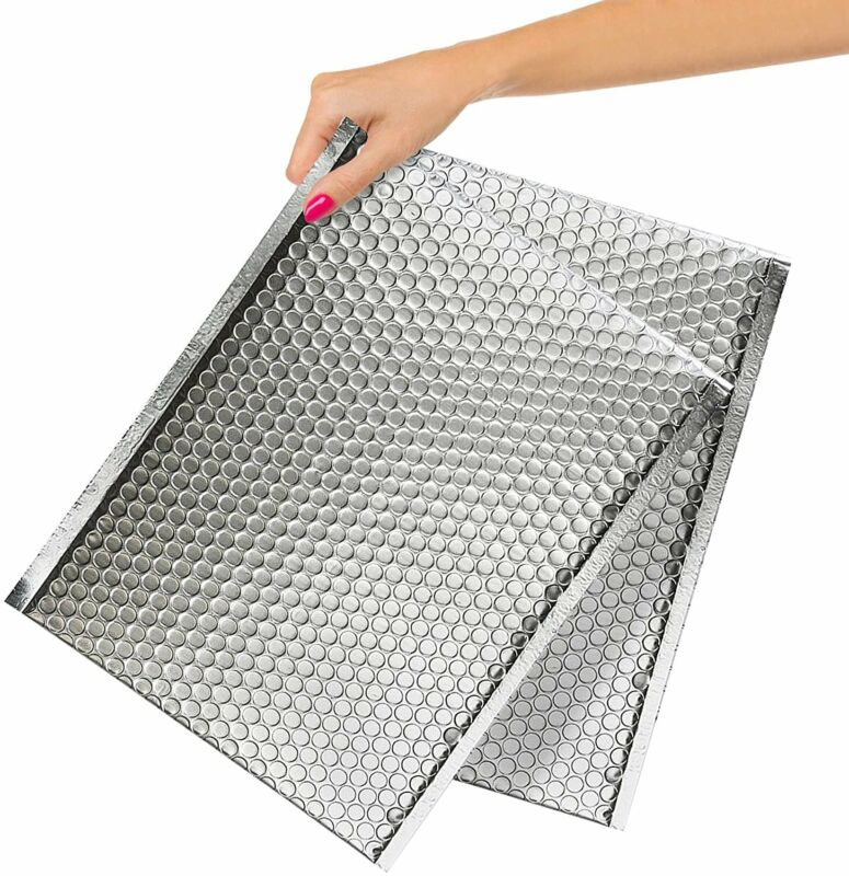 25-Pack Cool Shield Bubble Mailers 12 x 17 Thermal Padded Envelopes