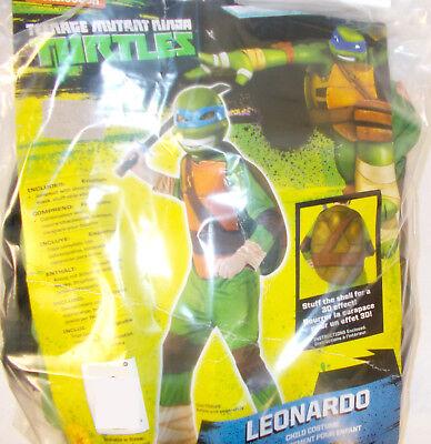 Rubies Green Brown Blue Teenage Mutant Ninja Turtle Leonardo Costume Jumpsuit - Blue Ninja Turtle