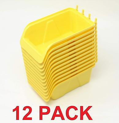 Wallpeg Pegboard Bins Quality Pegboard Kits 12 - 3 Pack For 14 And 316 Hole