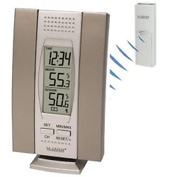 WS-7013BZ La Crosse Technology Wireless Thermometer Weather Station with TX6U