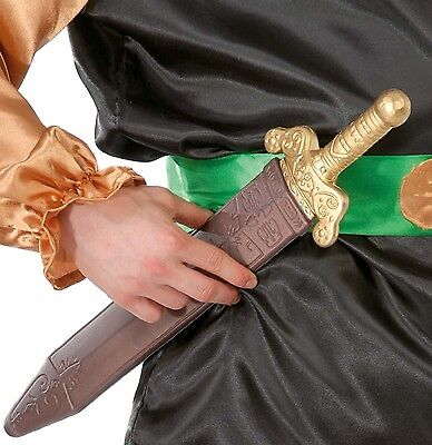 Kids Ladies Mens Roman Sword & Sheath Toy Fancy Dress Costume Accessory Weapon (Toy Roman Sword)