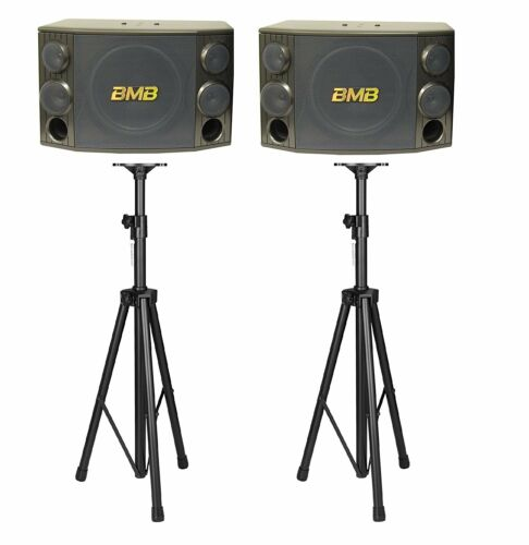 BMB CSD2000 1200Watts Speakers with Speaker Stands Combo