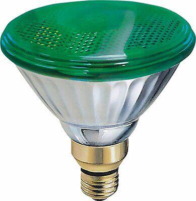 GE Brand 85 Watt Green PAR38 Outdoor Flood Light Bulb E26 Ba