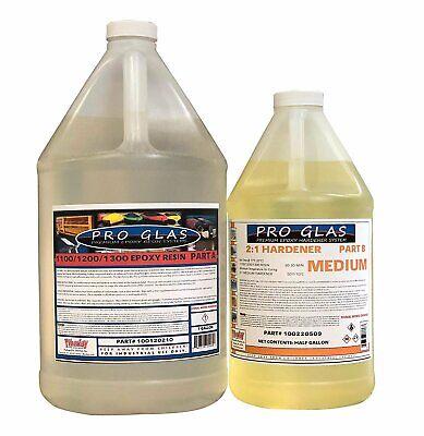 Epoxy Laminating Resin 21 Kit Uv Stable High Strength 1.5 Gallon Kit- Fast