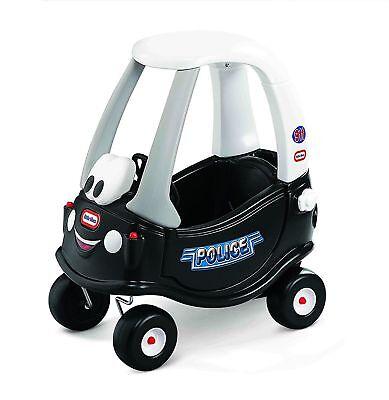 Little Tikes Cozy Coupe Polizei Laufauto Fahrzeug Rutschwagen Kinderfahrzeug