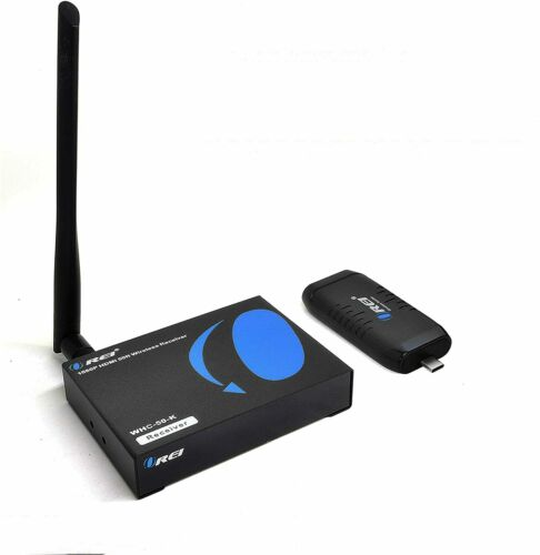 Wireless HDMI Extender Transmitter & Receiver Dongle 1080P Kit Type USB-C to HDM