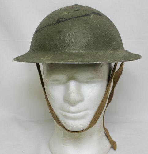 1940 -WW2 BRITISH ARMY MKII HELMET ( J..S.S  - 1940 )