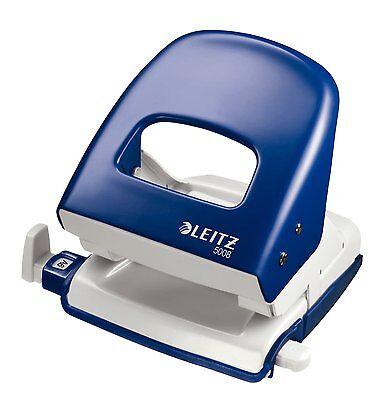 Leitz Locher 5008 Nexxt Bürolocher Metall 30 Blatt blau
