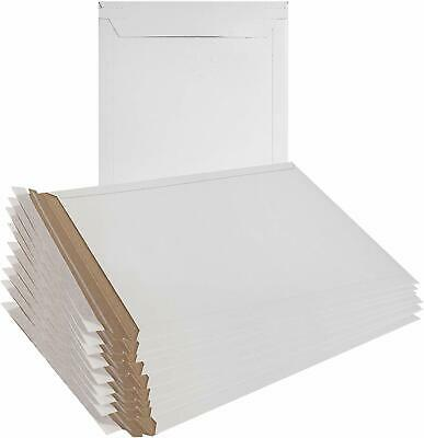 50 - 6 X 7 White Cddvd Photo Ship Flats Cardboard Envelope Mailer Mailers