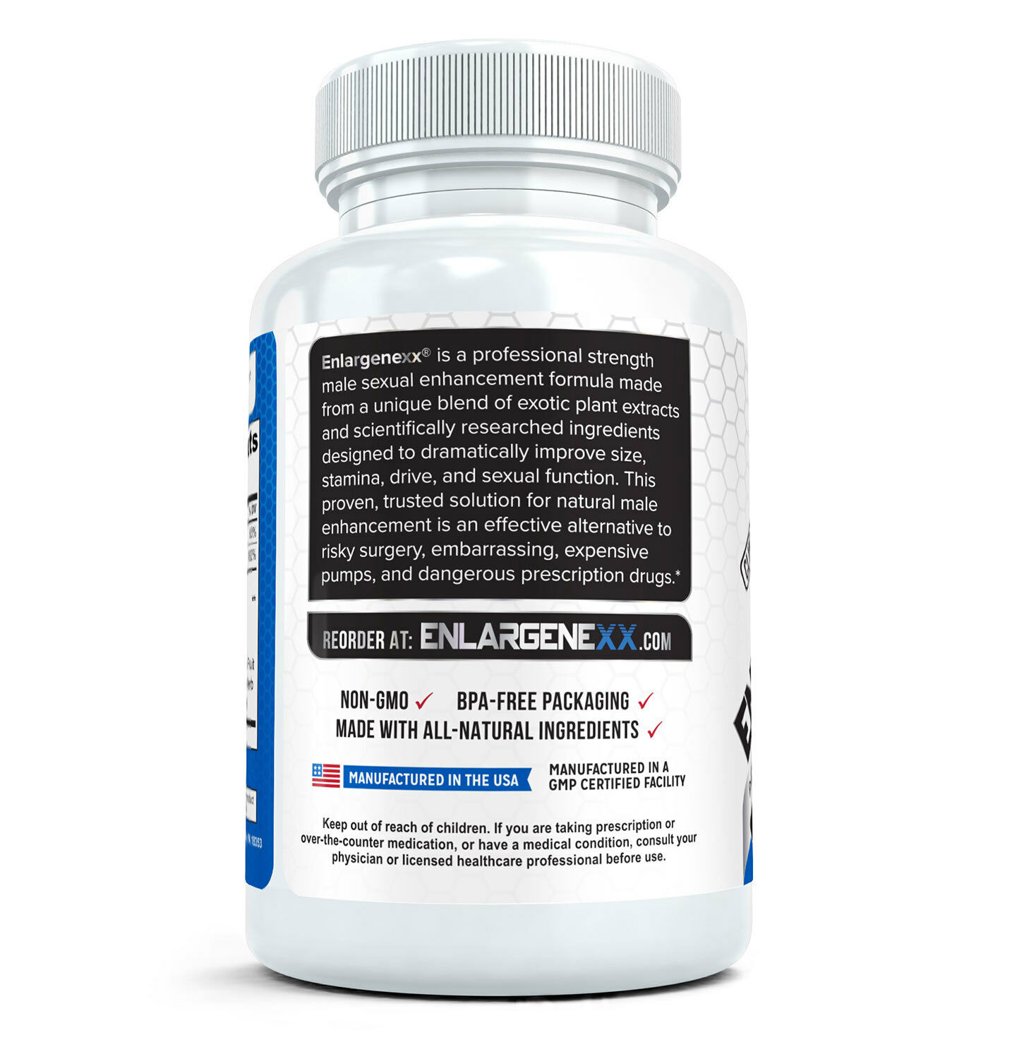 2x ENLARGENEXX  #1 Male Enhancement Pills for Growth (60 Capsules Each) 1
