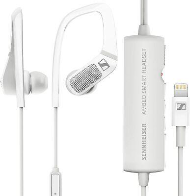 Sennheiser AMBEO Smart Headset (iOS) – Active Noise Cancellation, Transparent