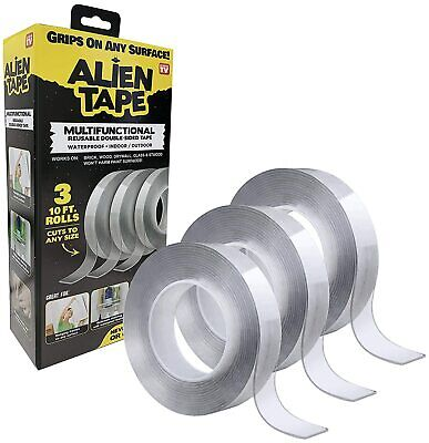 Alien Tape - Multi Functional Reusable Transparent Double Sided Mounting Tape