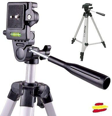 OFERTON Tripode camara reflex compacta estable aluminio nikon canon sony o video