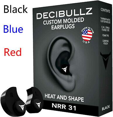 Decibullz Custom Moulded Earplugs Hearing Protection Defenders Shooting