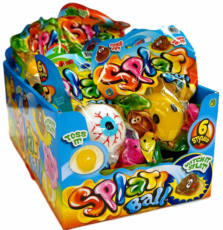 Ja-Ru Splat Balls Squishy Squeeze Pick Your Favorites!! New Styles! Games