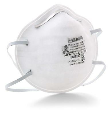 Dust Mask Particulate Respirator 3M 8200 N95 20 Count Sweeping Sanding for sale  Shipping to India