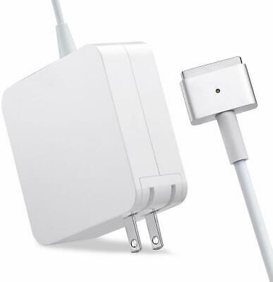 Mac Book Pro Charger, AC 45W,60W,85W Magsafe2 T-Tip Power Adapter