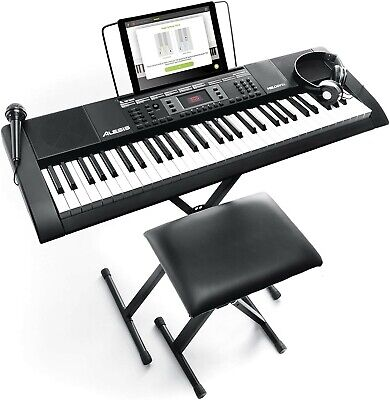 Alesis Melody 61 MKII | 61 Key Portable Keyboard with Built In Speakers, Headpho
