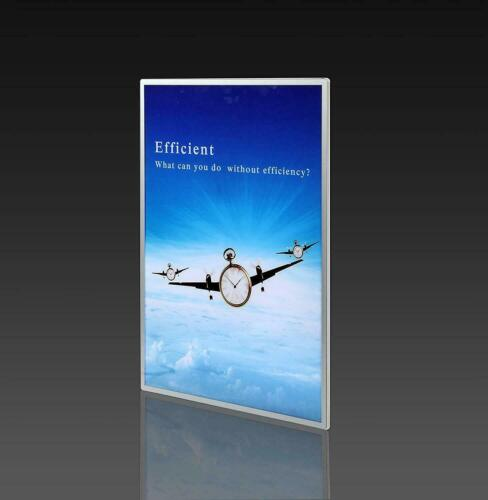 Linno® A1 A2 A3 A4 Slim LED Illuminated Wall Mounted Frame Poster Display Board