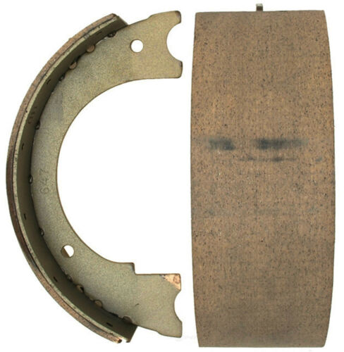 ACDelco 14933B Advantage Rear Parking Brake Shoe