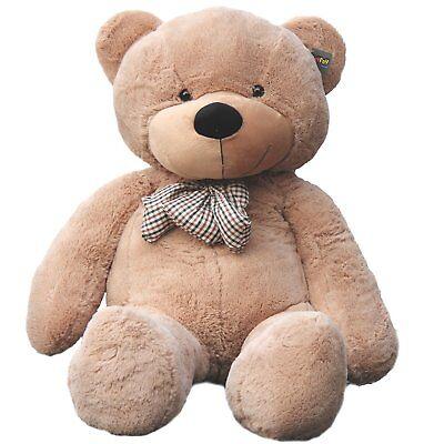 "Joyfay® 63"" 160cm 5 ft Giant Teddy Bear Stuffed Plush Toy Valentines Gift"