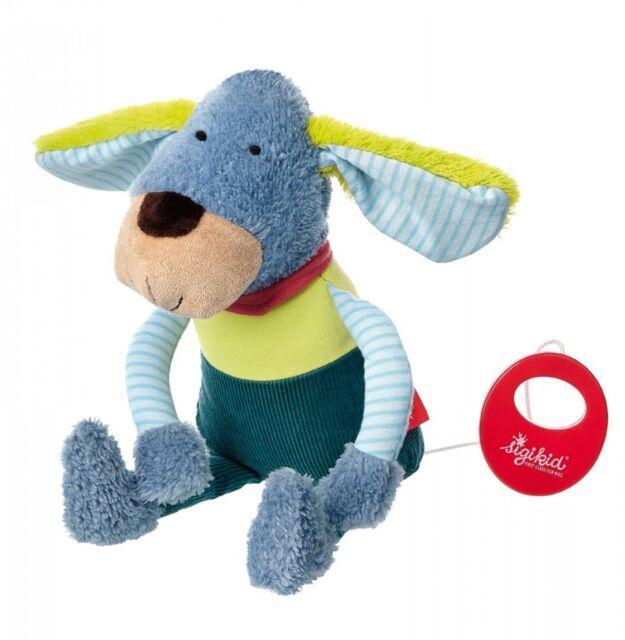 Sigikid 41358 Hund Spieluhr Kindergarten Freunde mit Frere Jaques Neu & Ovp