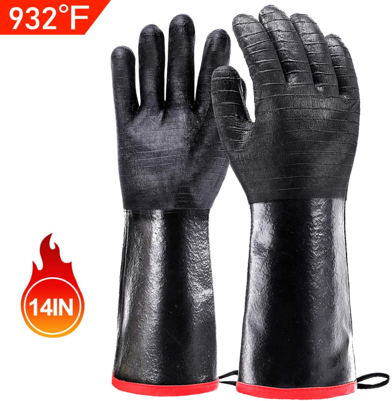 bbq grill gloves 932 waterproof grilling gloves