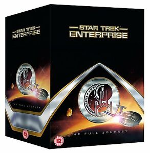STAR TREK ENTERPRISE THE FULL JOURNEY COMPLETE COLLECTION BOX SET DVD BRAND NEW