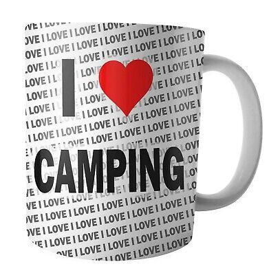 Ich Liebe Camping - Tee - Kaffee - Becher - Tasse - Geburtstag - Weihnachten