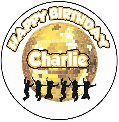 Disco Ball For Kids (Personalised Disco Ball Kids Party Birthday 8