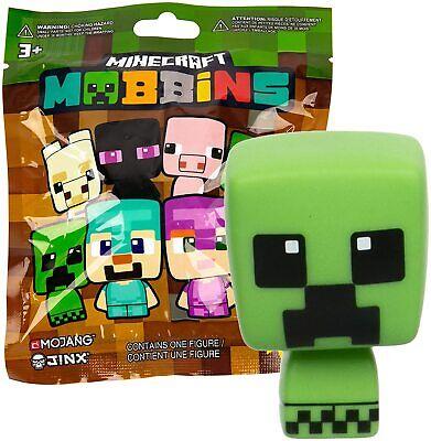 JINX Minecraft Mobbins Vinyl Toy Figures Blind Pack, Series 1 (1 Mystery Figure)