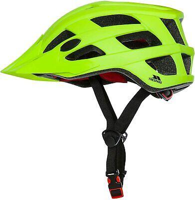 Casque Vélo VTT Cyclisme TRESPASS Zprokit Adulte Jaune Taille M (55-58cm)