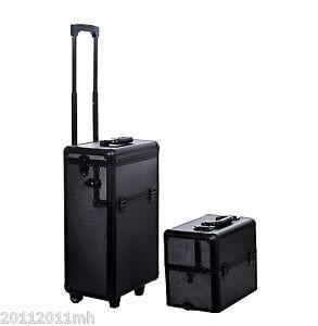 3-in-1-Aluminum-Rolling-Makeup-Train-Cases-Cosmetic-Organizer-Storage-Box-Black