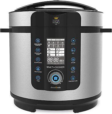 Electric Multi Function Pressure Cooker Instant Pot 6L Casserole Soup Stockpot