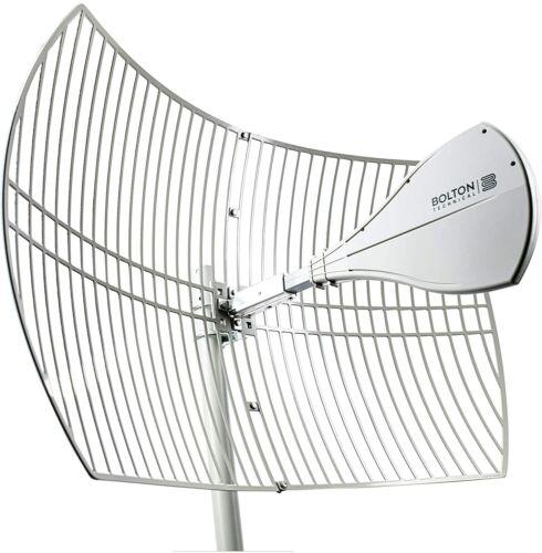 Bolton 2021 Long Ranger Parabolic Antenna 10 Miles Range High gain 5G/Wifi 6