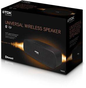 TDK TW212 Bluetooth Wireless Speaker - Aux MP3 Samsung HTC iPhone iPod